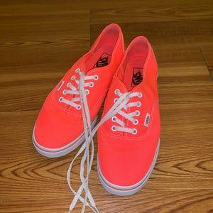 Vans Shoes - Vans Neon Pink Men's 8 (Women's 9.5)